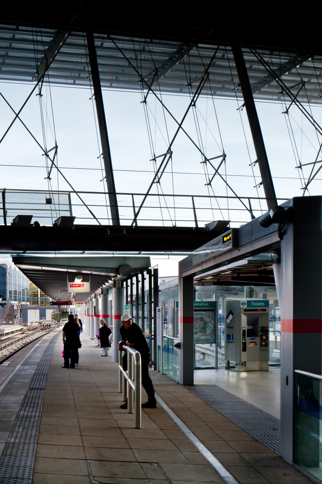 Stratford DLR Platforms