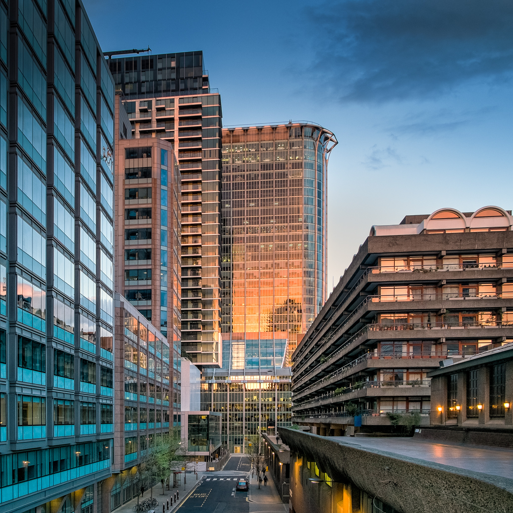The Heron, Barbican and Citypoint