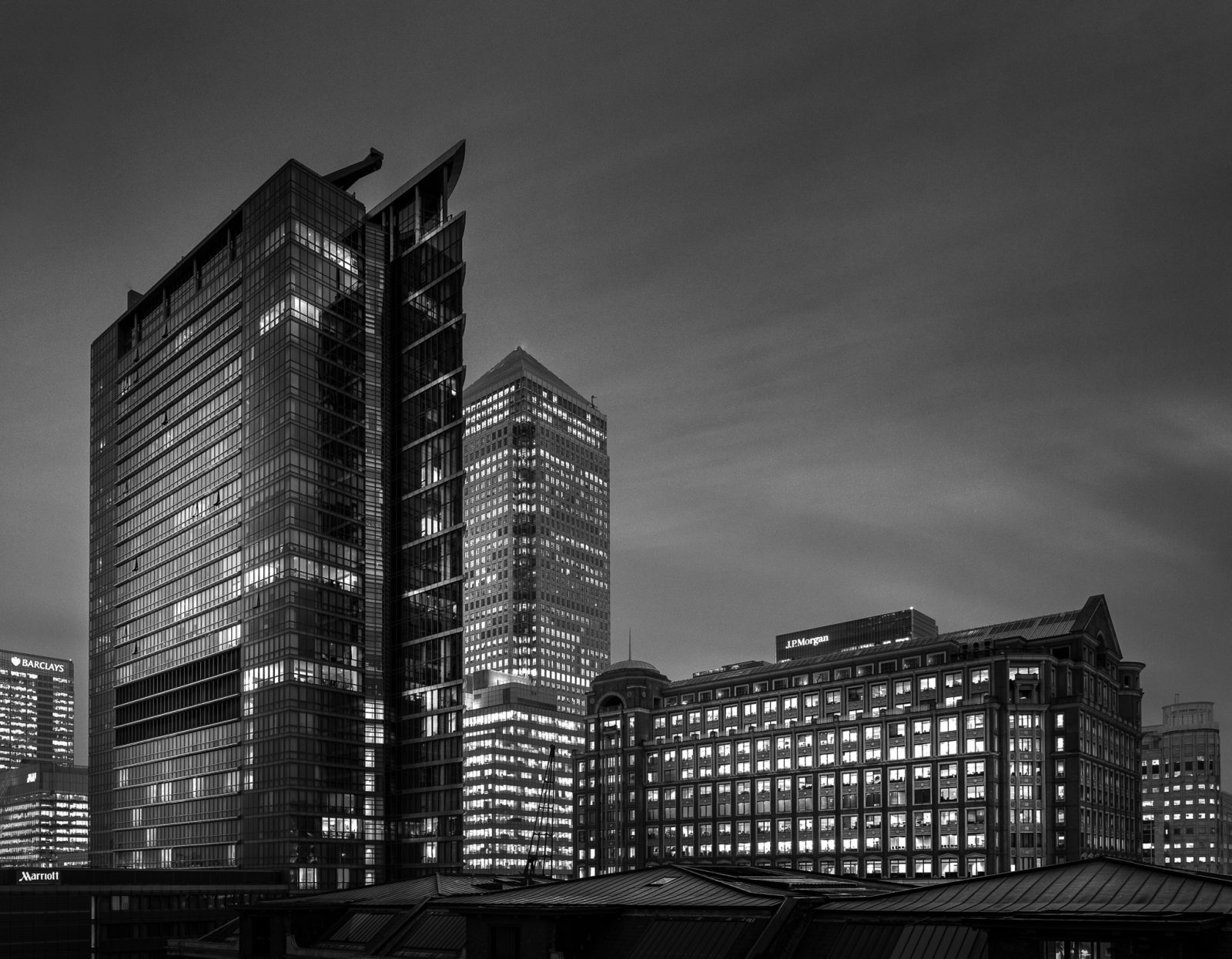 1 West India Quay (including London Marriott Hotel)