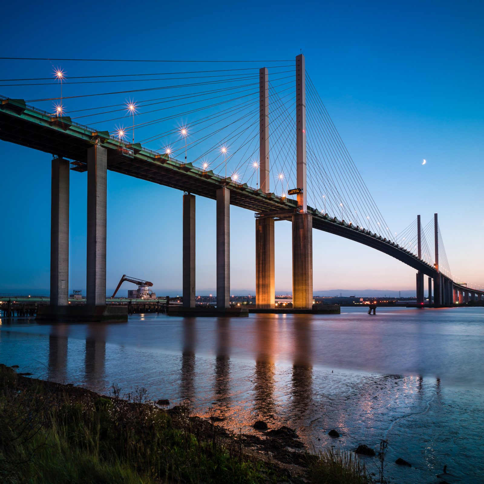 Dartford River Crossing, QEii Bridge