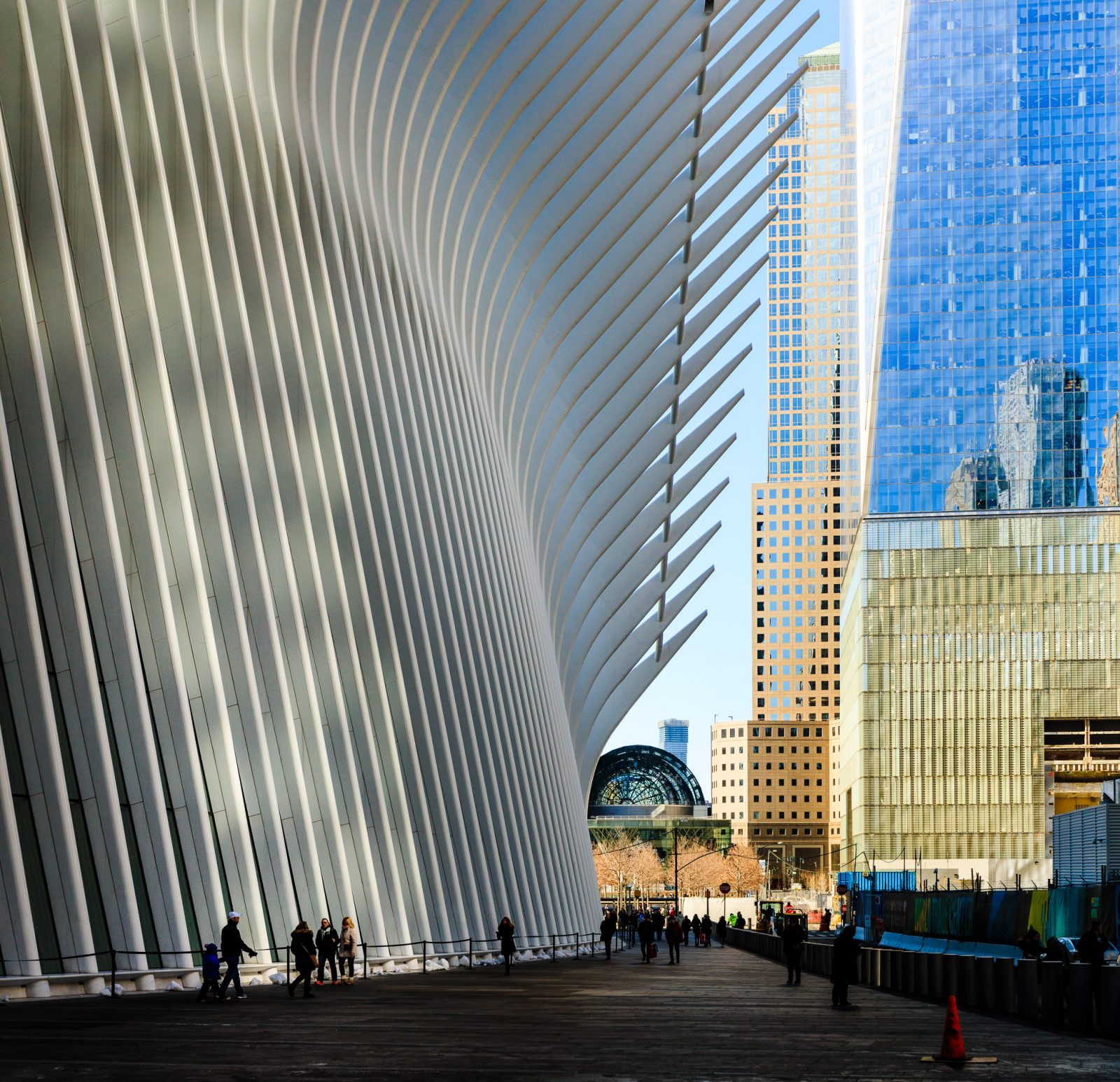 Oculus and WTC Transportation Hub