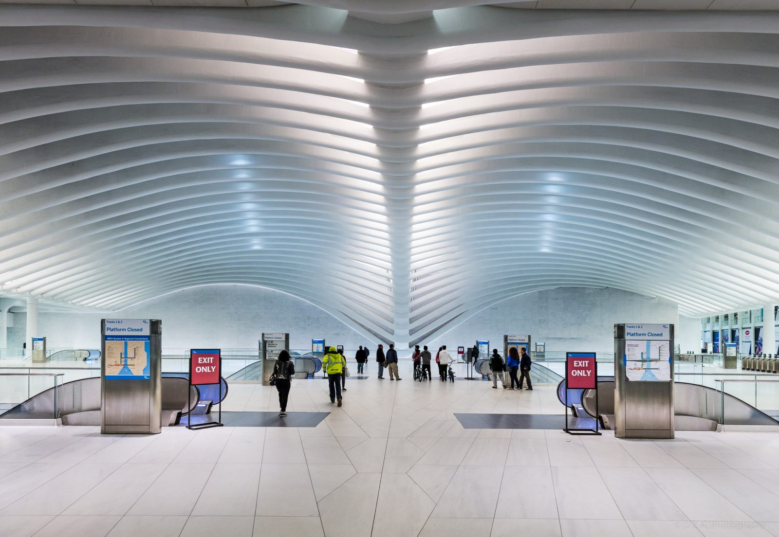 Oculus and WTC Transportation Hub, @S_Calatrava