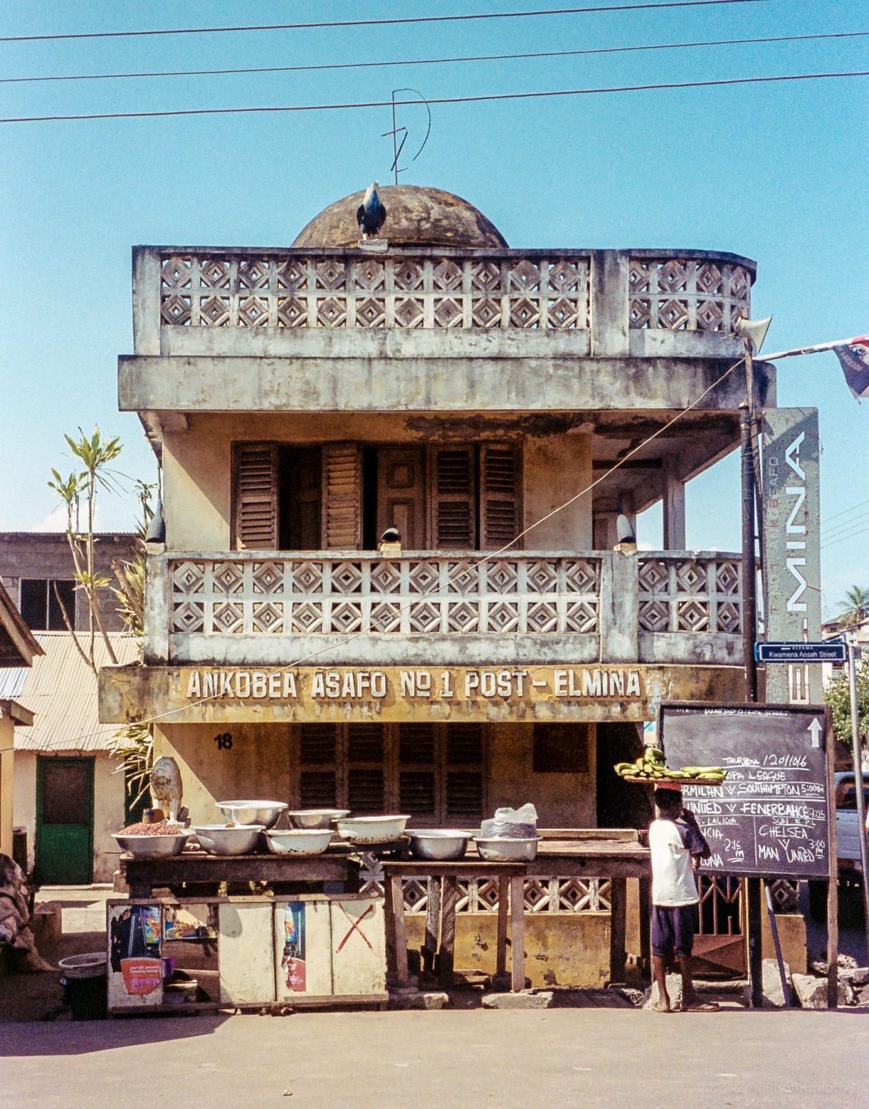 Elmina - Posuban of Asafo company No. 1 Ankobea