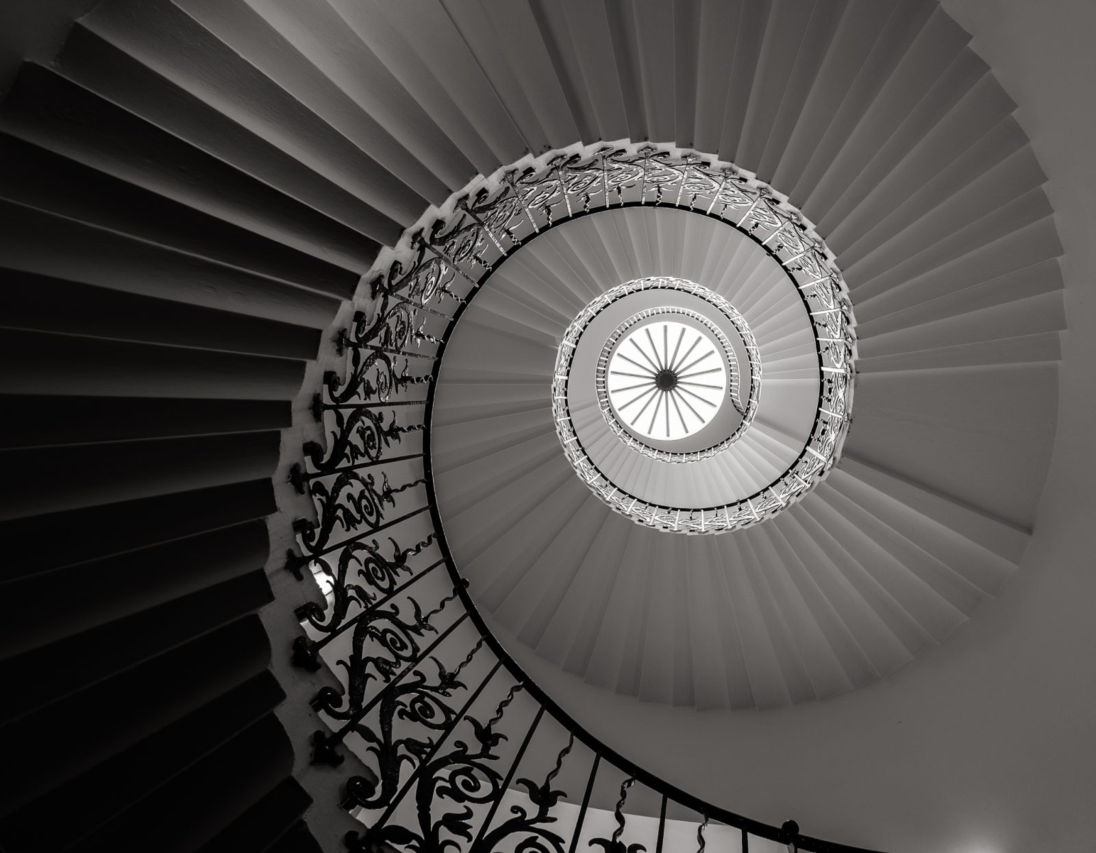 Tulip Stairs & Lantern