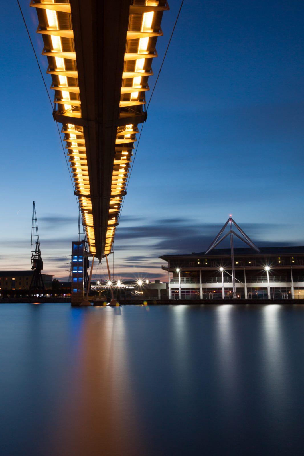 Pedestrian Footbridge, Royal Victoria Dock