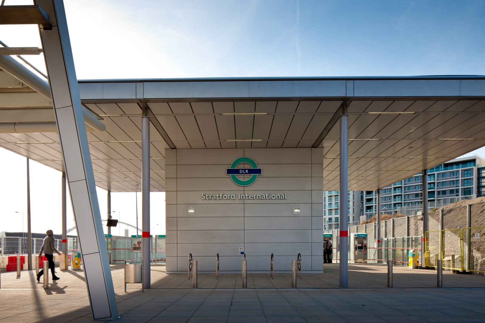 Stratford International DLR Station