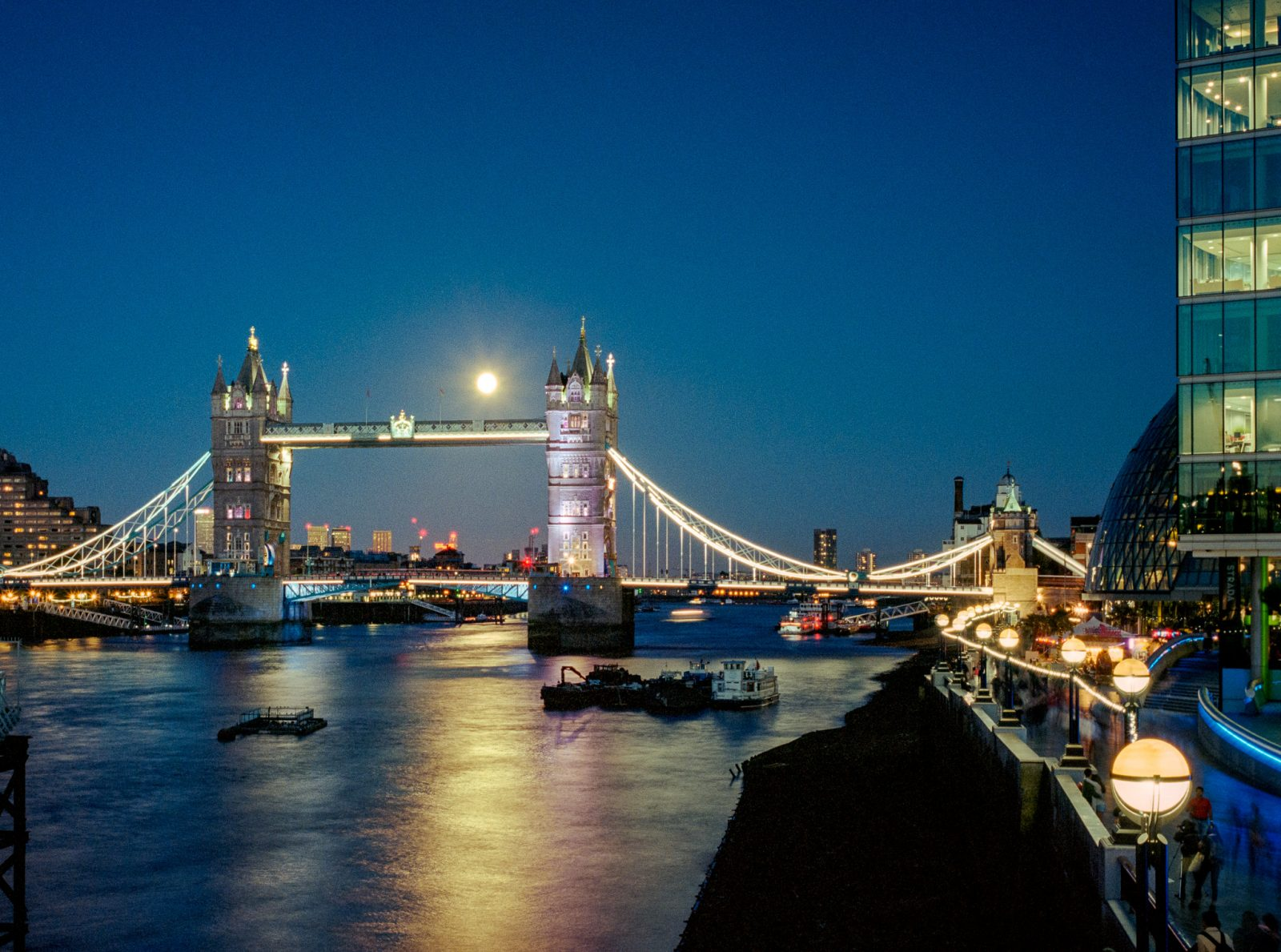 Full Moons over Tower Bridge