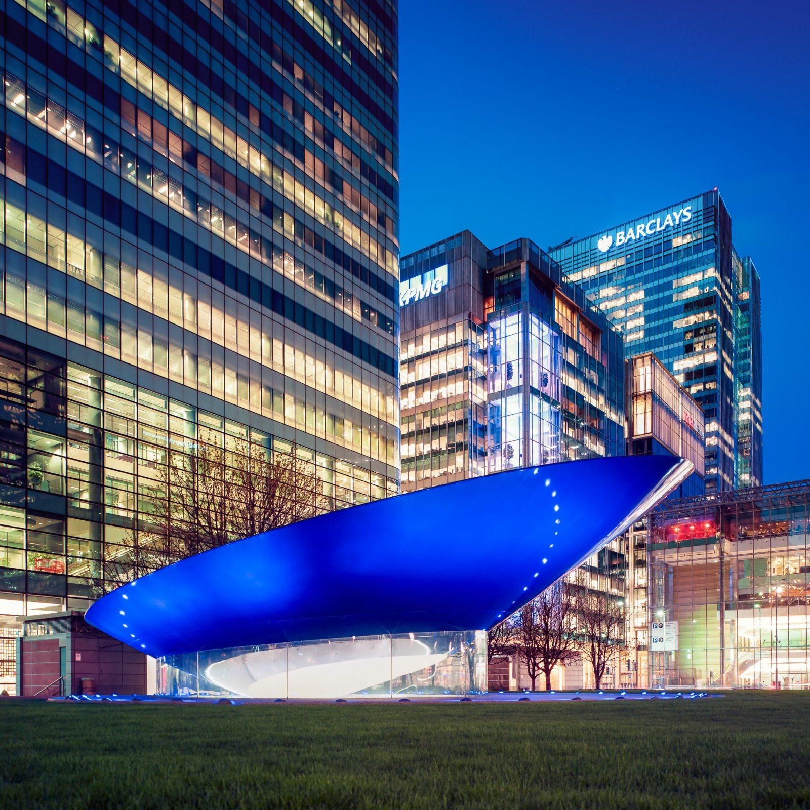 Big Blue by Ron Arad