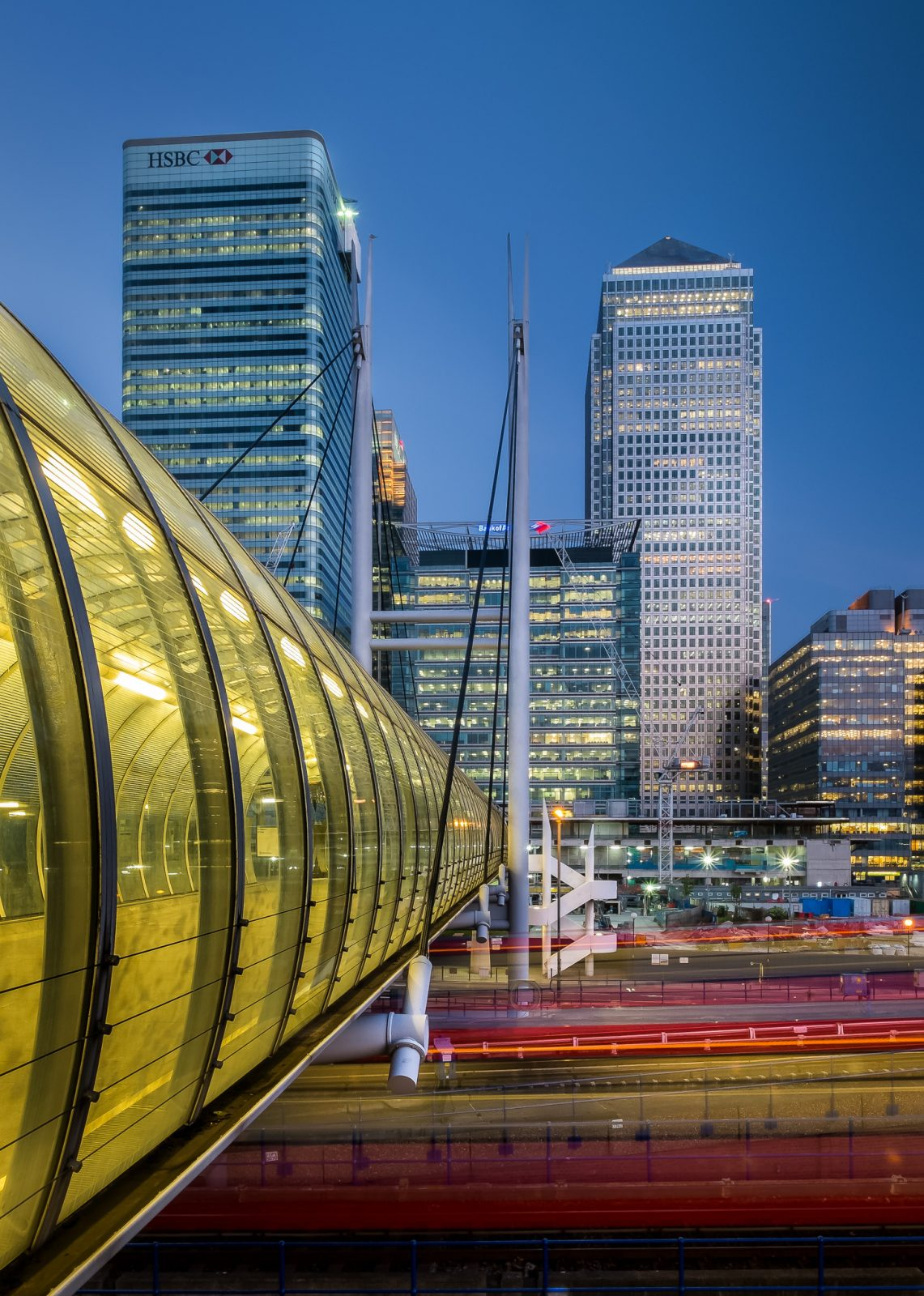 Poplar DLR & Docklands Towers
