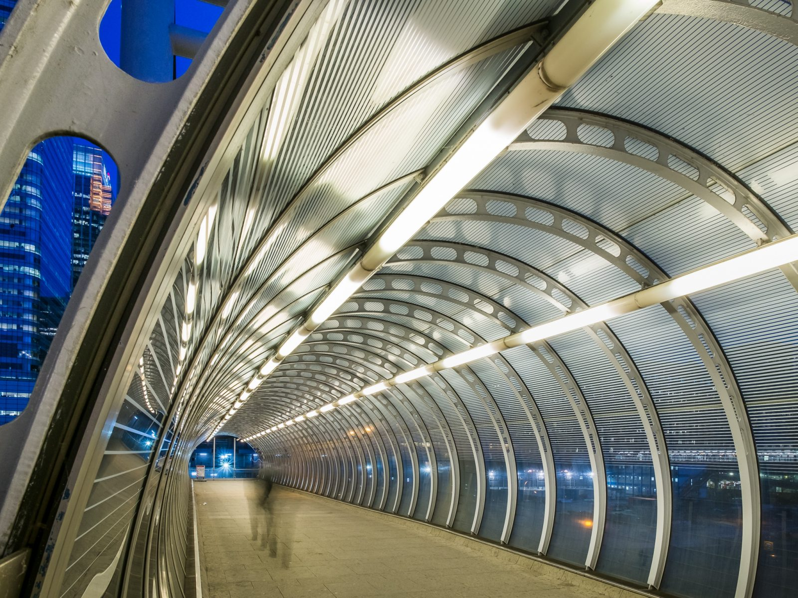 Poplar DLR Walkway