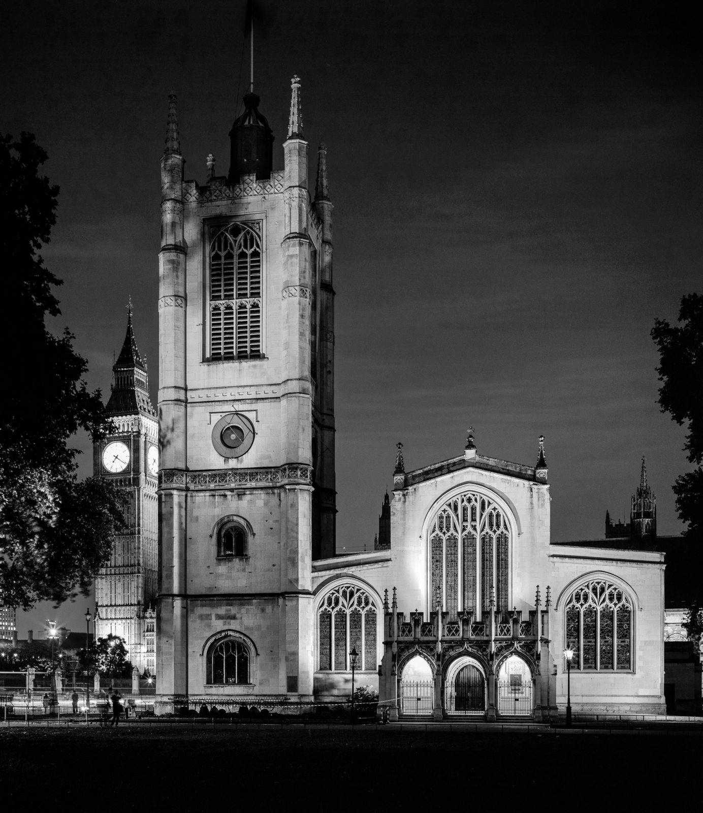 St Margaret's Church + Elizabeth Tower (aka Big Ben)