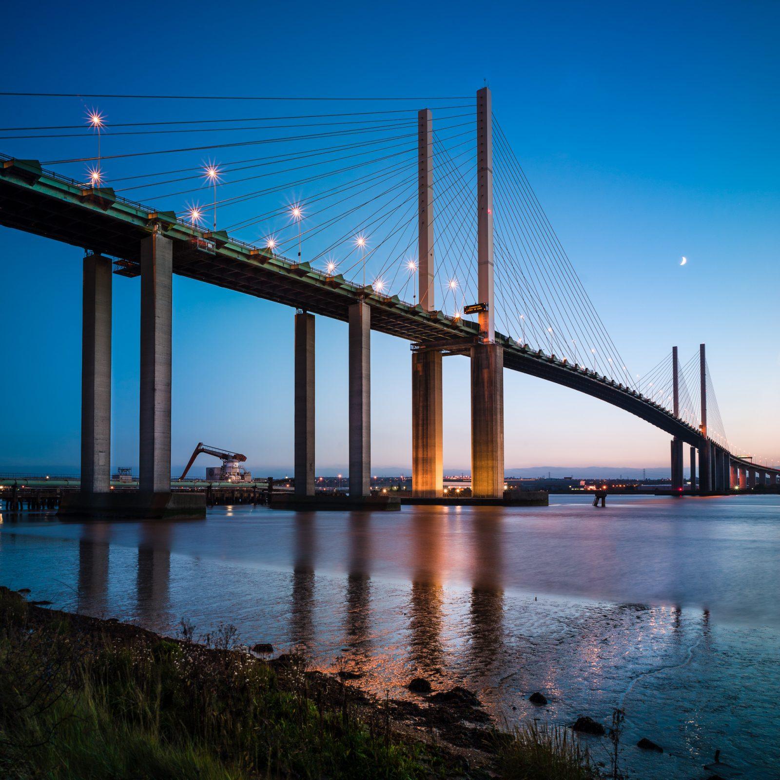 Dartford River Crossing, QEii Bridge