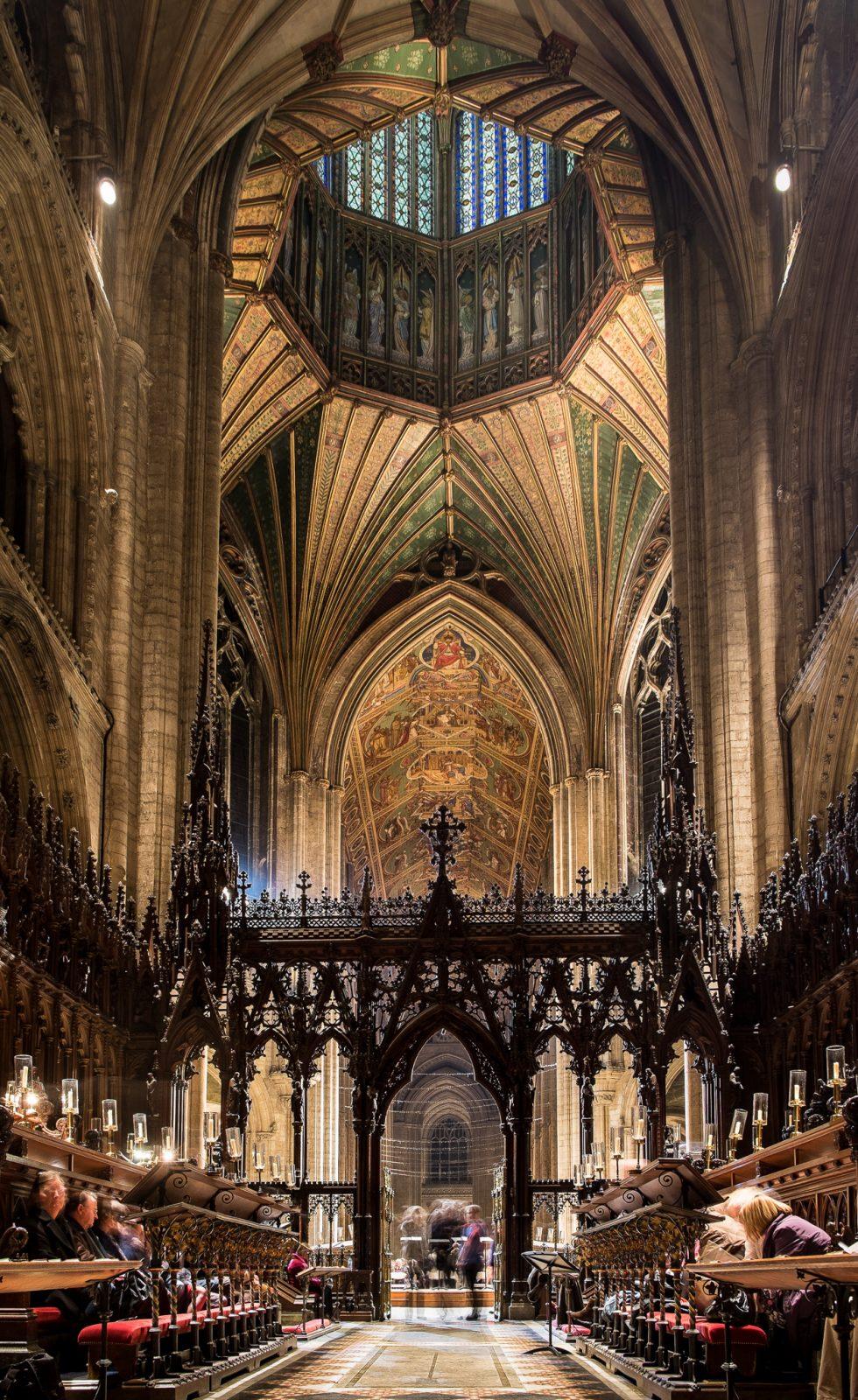 The Choir, a Lantern & the Nave