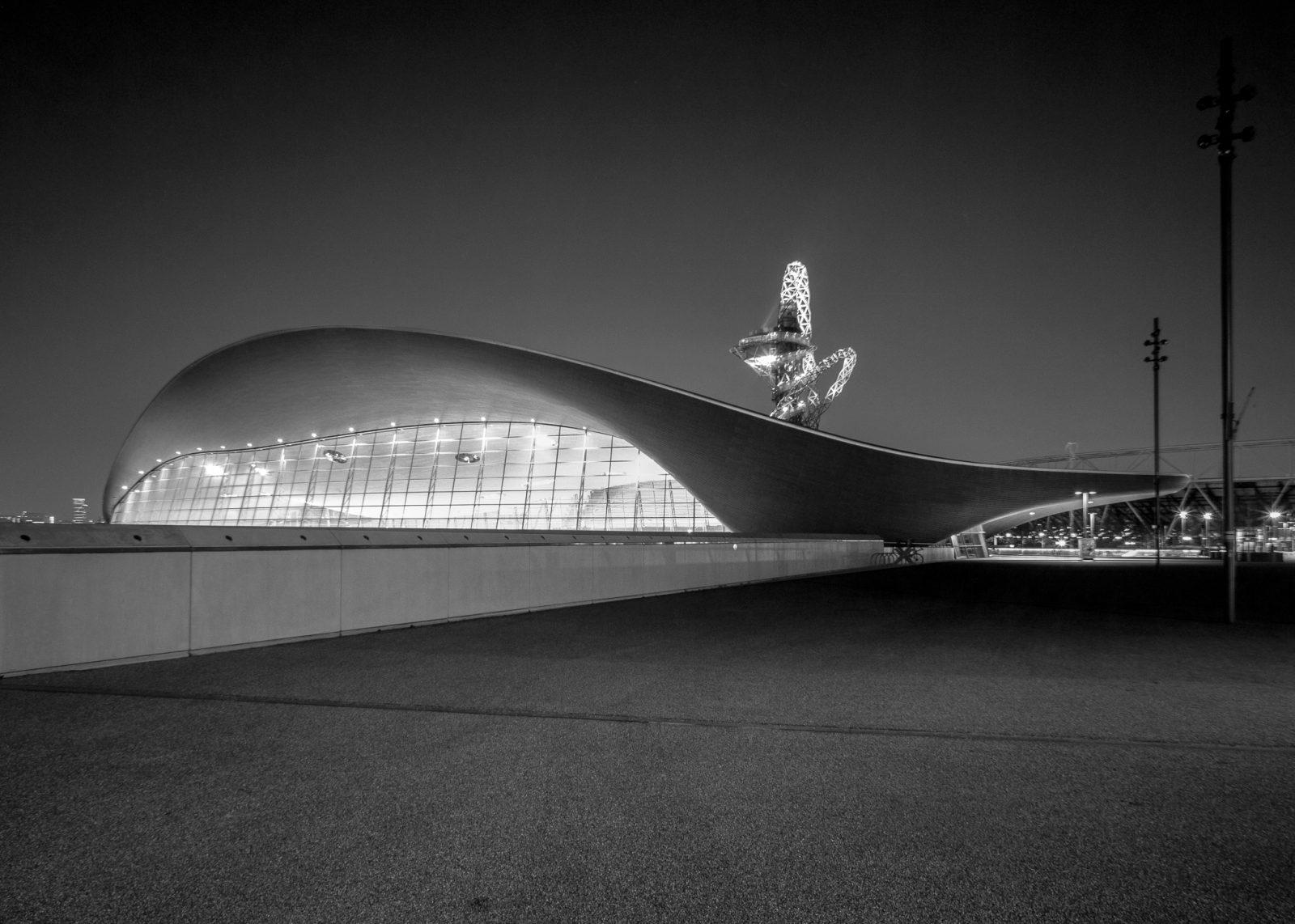London Aquatic Centre, QEOP