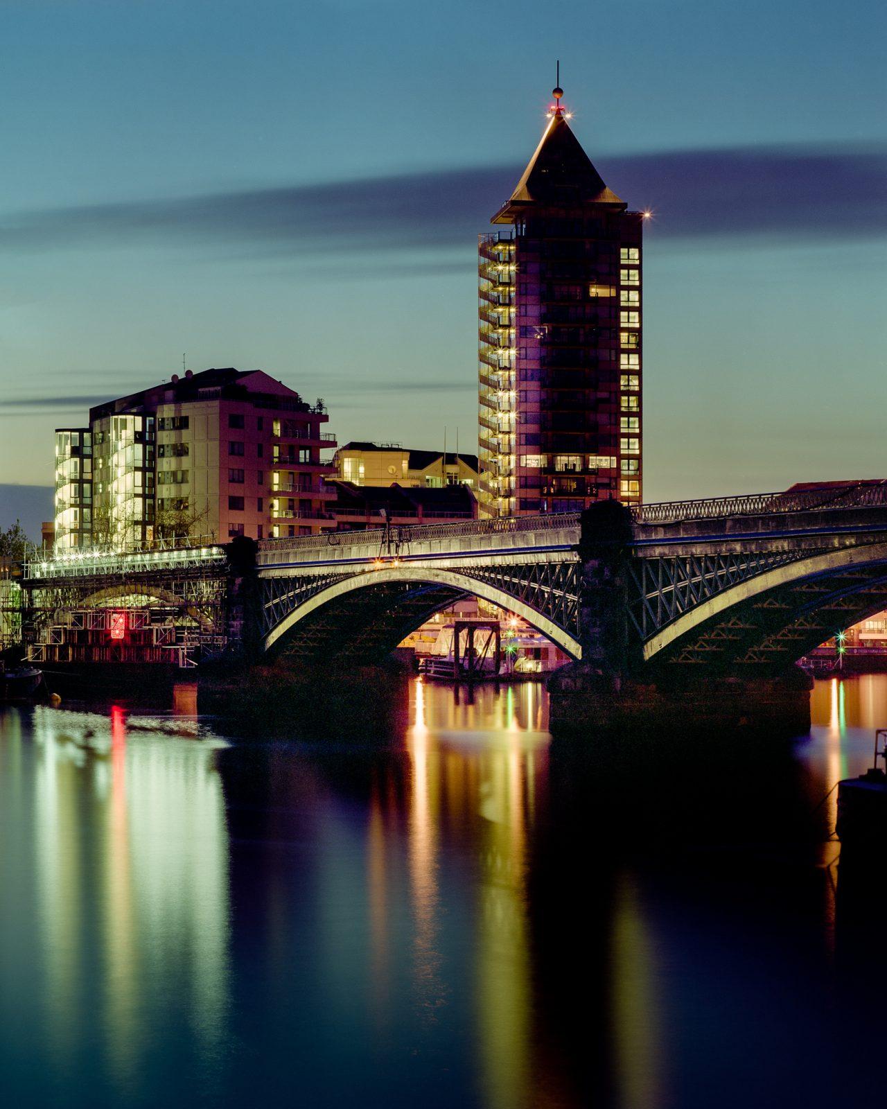 Battersea Railway Bridge & The Belvedere Tower