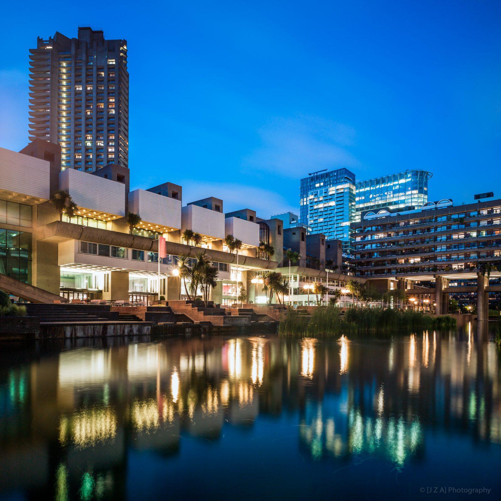 Barbican Centre and Lake