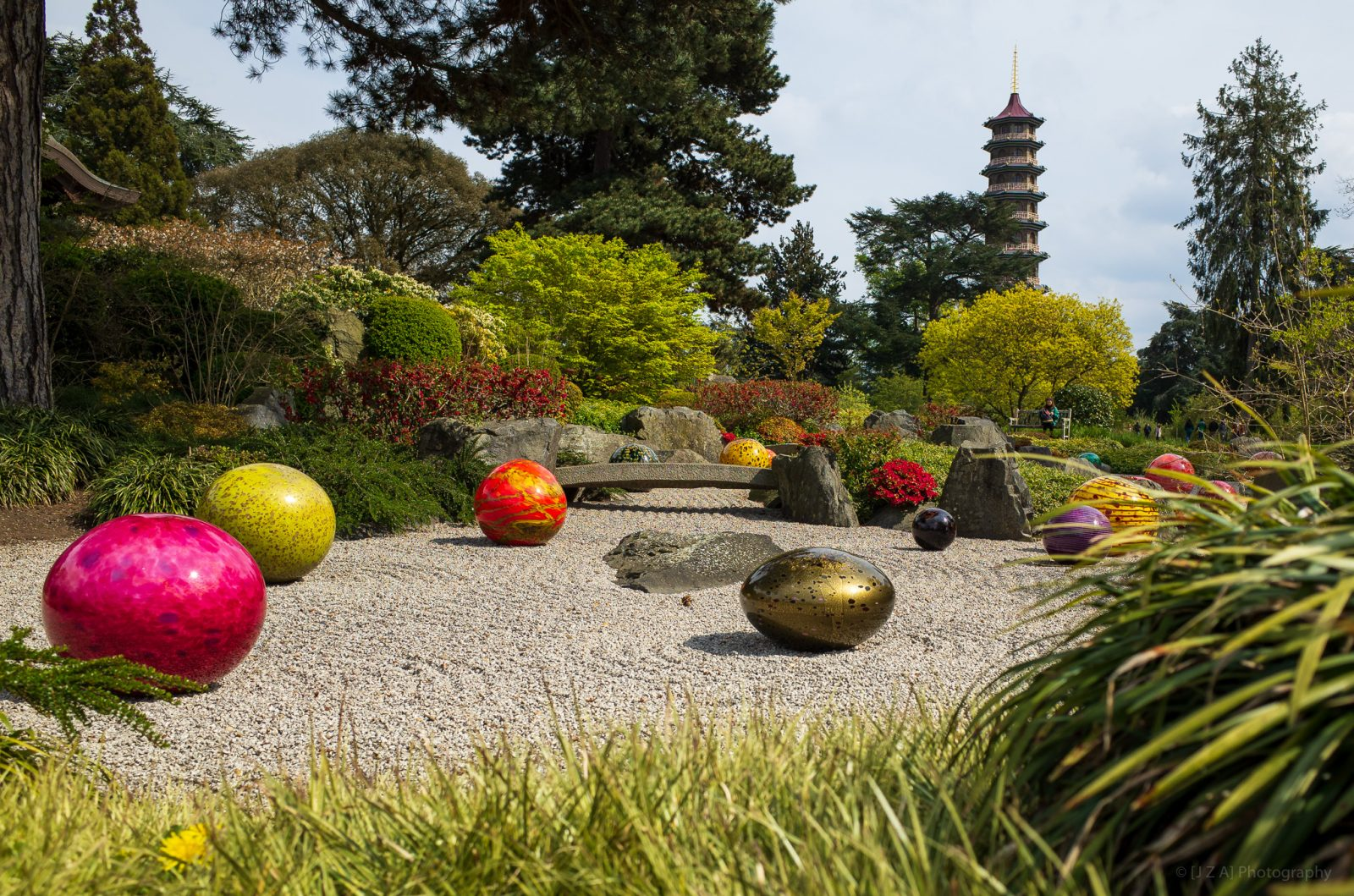 Kew Gardens:  Reflections on nature